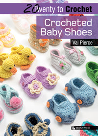 20 to Make - Crocheted Baby Shoes