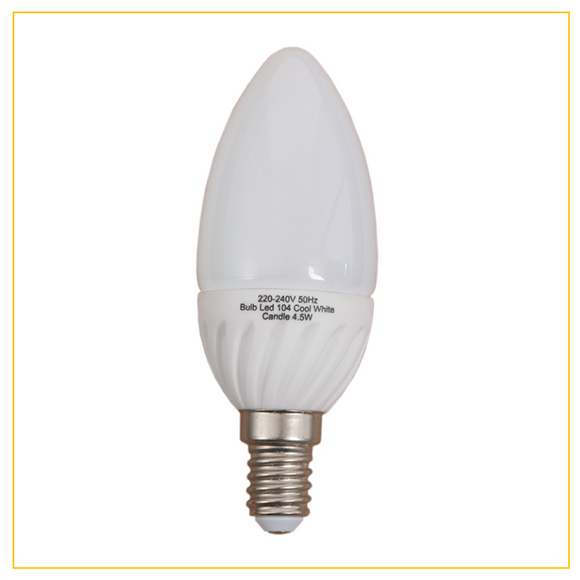 BULB LED - 4.5W Cool or Warm White