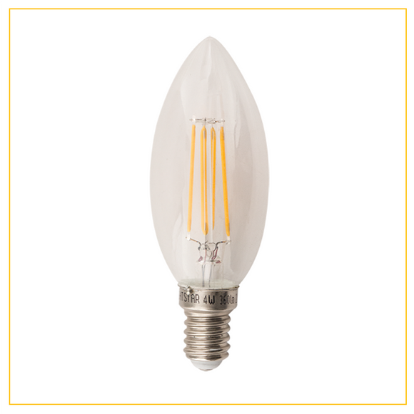 BULB LED 130 - 4W Warm White