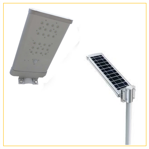 FLSOL24S - Solar Street Light with PIR – Daylight – 24W