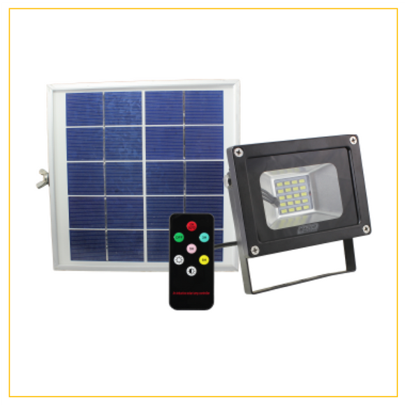 SFR105 - 10W Solar Power LED Floodlight