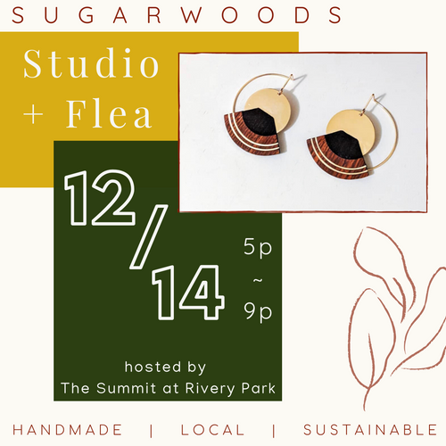 Sugarwoods Studio + Flea // 12.14