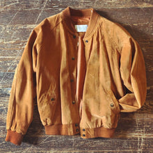 Load image into Gallery viewer, Bourbon Suede Bomber