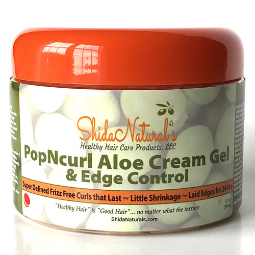 PopNcurl Aloe Cream Gel & Edge Control 12 oz (340 g)
