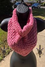 Load image into Gallery viewer, Pink Bandanna Cowl kids