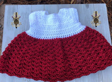 Load image into Gallery viewer, Crochet Infant Dress