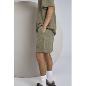 Just Junkies Frot Shorts Shorts 890 Olive