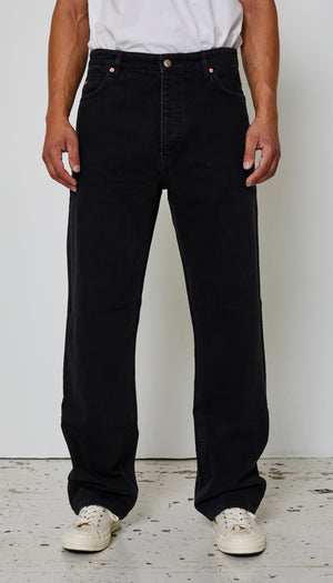 Just Junkies Wider Black Jeans 001 - Black