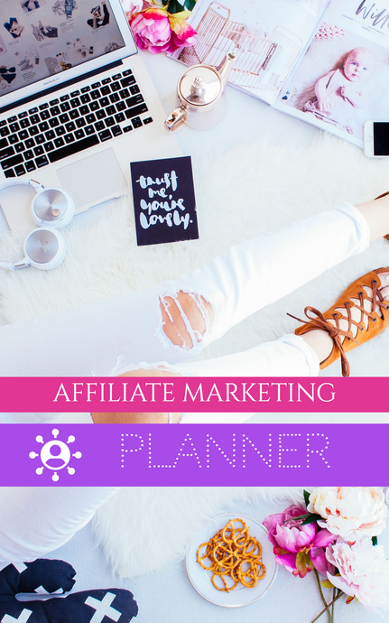 Affiliate Marketing Digital Planner