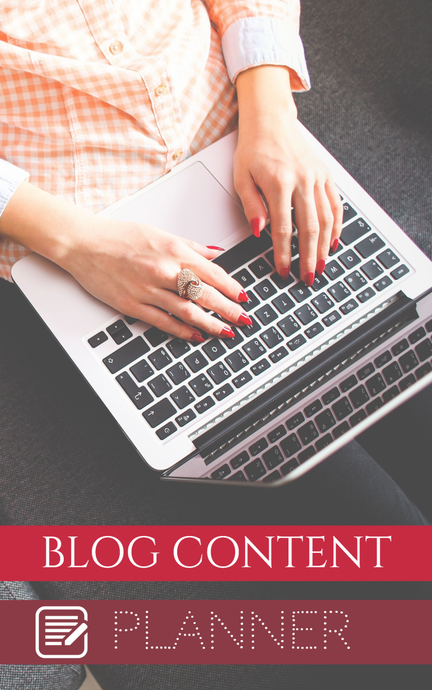 Blog Content Digital Planner