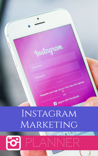 Instagram Marketing Digital Planner