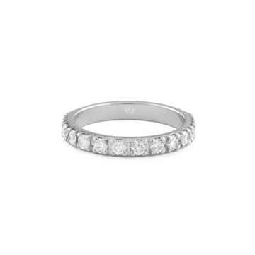 Half Eternity Engagement Ring