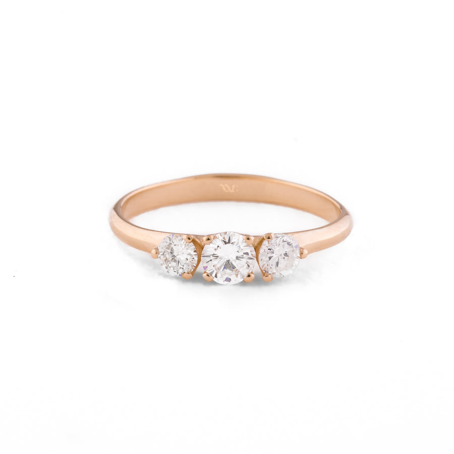 Trioss Engagement Ring