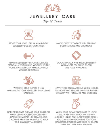 Jewellery Care - Pandemic Style