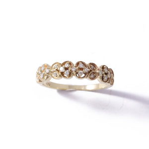 9ct Yellow Gold Paradise Wedding Band