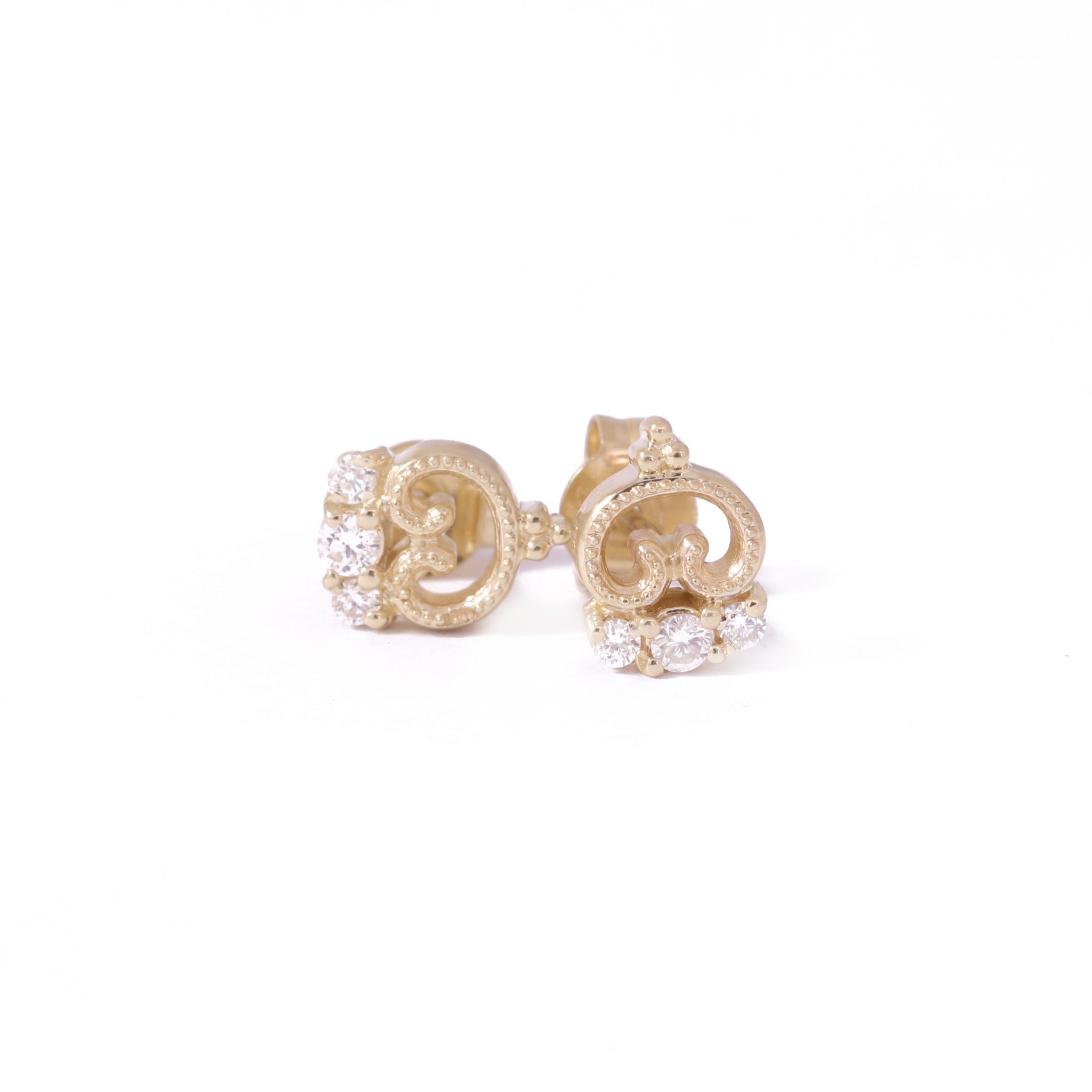 9ct Yellow Gold Petite Blossom Studs