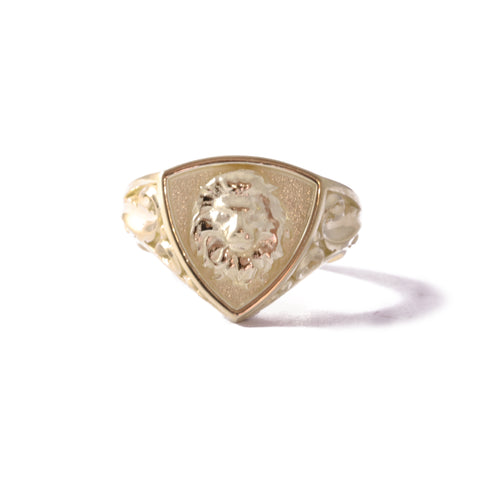 9ct Yellow Gold Triangular Legacy Signet Ring