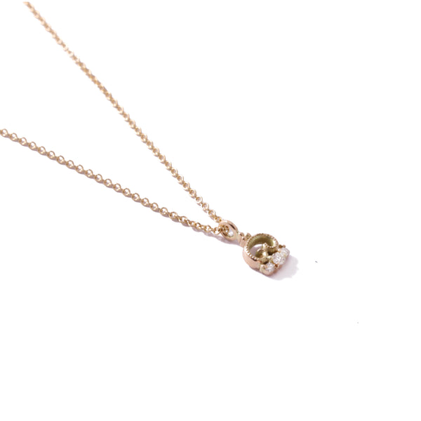 9ct Yellow Gold Petite Blossom Pendant