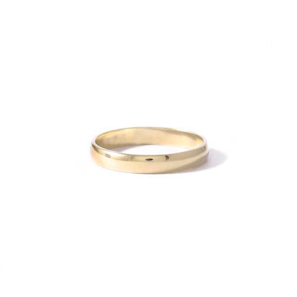 9ct Yellow Gold Half Round 3mm