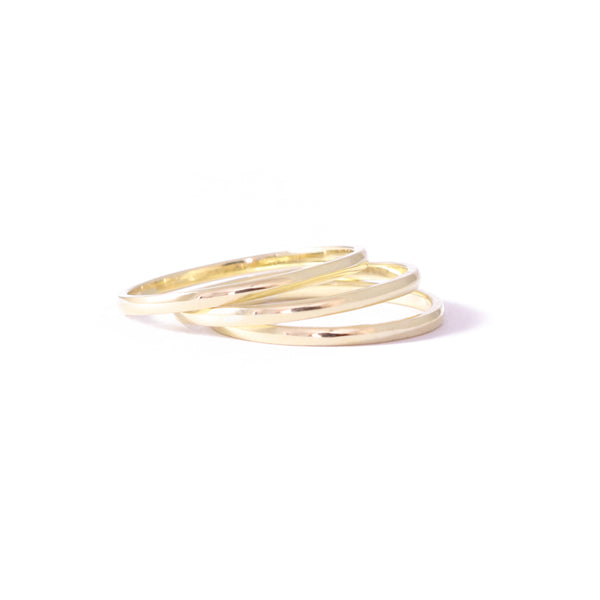 9ct Yellow Gold  Delicate Wedding Band
