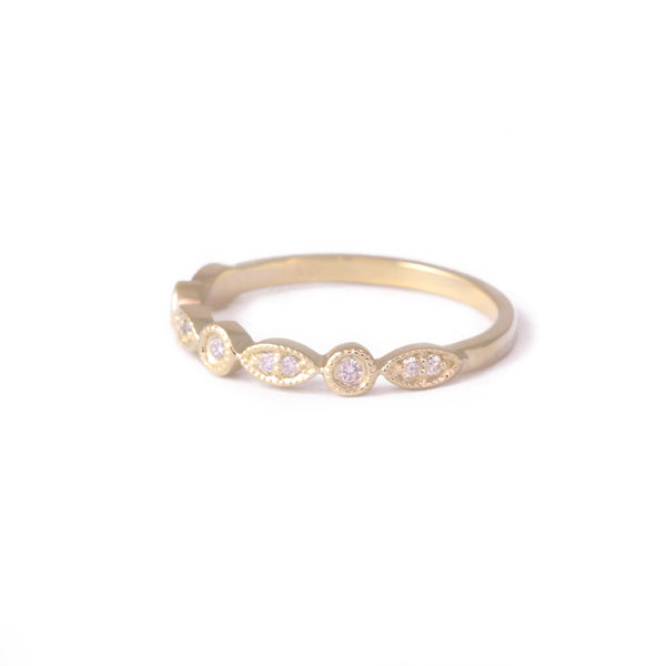 9ct Yellow Gold Vintage Diamond Eternity Ring