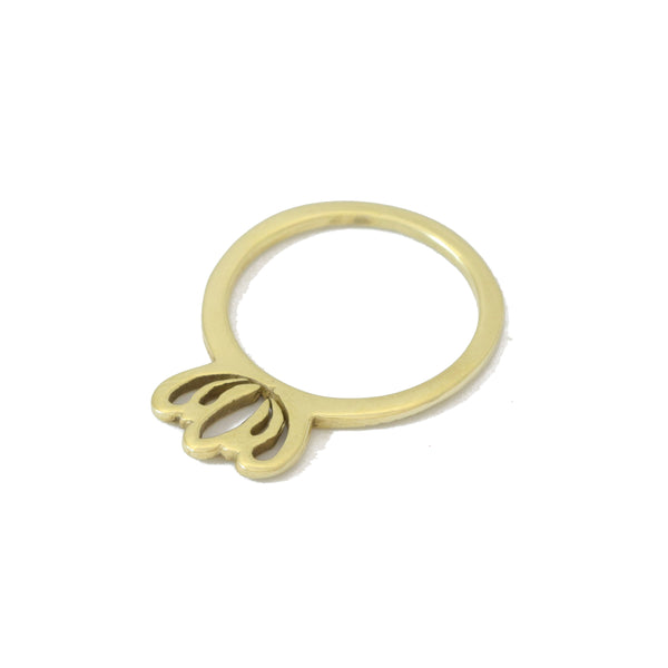 Gold Protea Ring