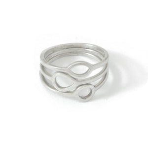 Silver Full 'Jardin' Ring