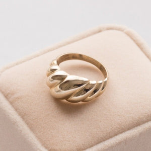Barley Ring in Brass