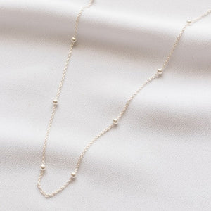 Rolo Oval Bead Chain in Silver