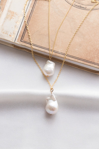 Small Pearl of a Great Price Pendant in Gold