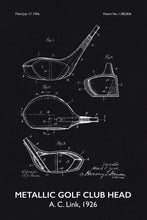 Golf Club Patent Print - 16X24 Inches / Titled Blackboard / Art Poster