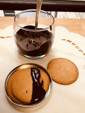 Keto-Snaps are the perfect night time keto cookie snack