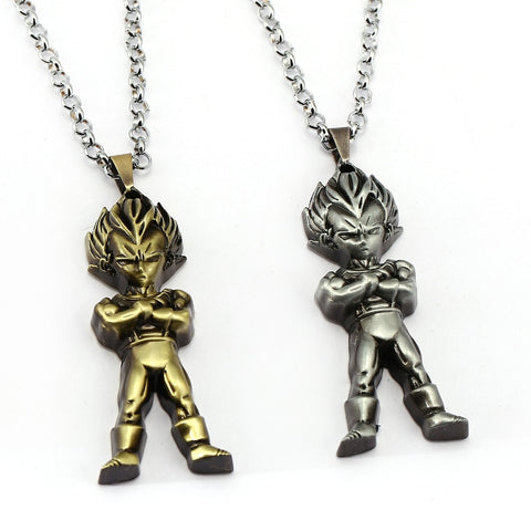 - True Warrior - Pendant Necklace (Gold/Platinum)