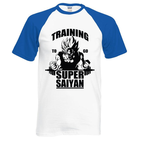 Training To Go Super - Two-Tone Shirt