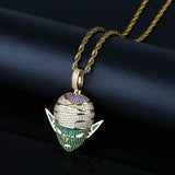 Icy Picolo Iced Out Pendant Necklace