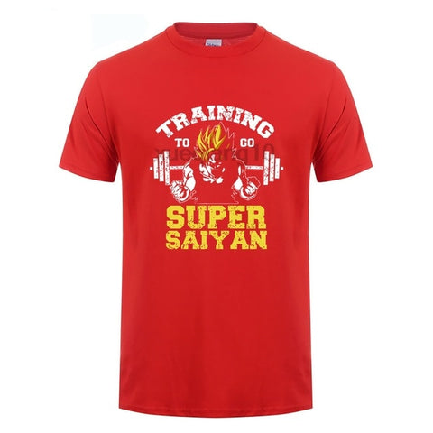 Training To Go Super - Gym Shirt