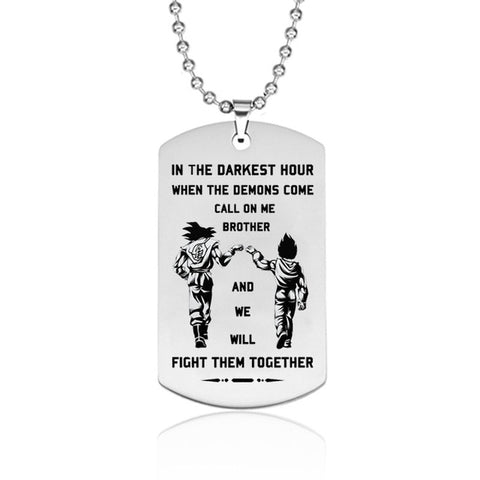 - True Brothers - Pendant Necklace