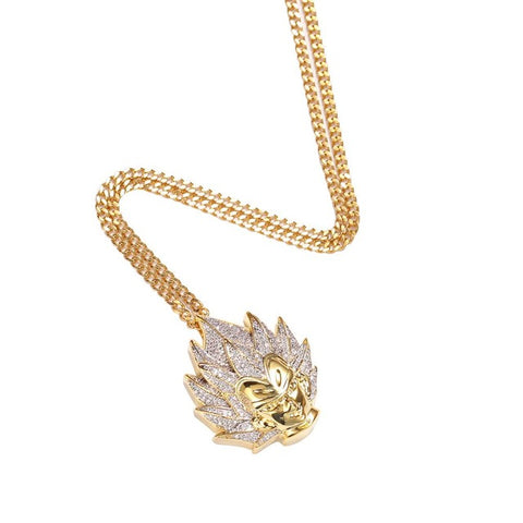 Prince Iced Out Pendant Necklace