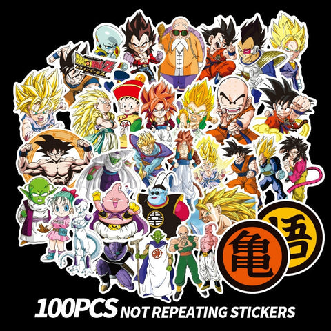 100 HD Z Stickers! (No duplicates!)