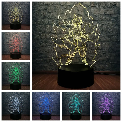 3D Power Up Night Light
