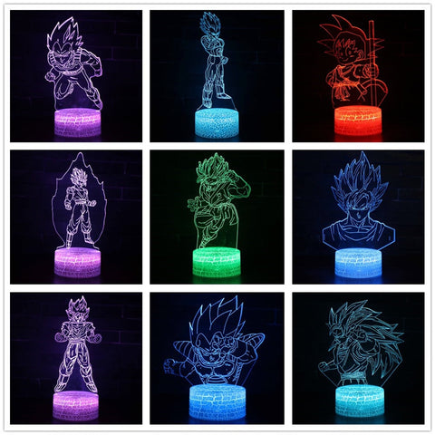 3D Glowing Z-Lights