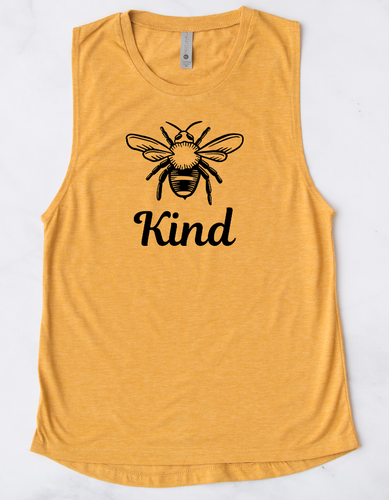 Bee Kind | Muscle Tank