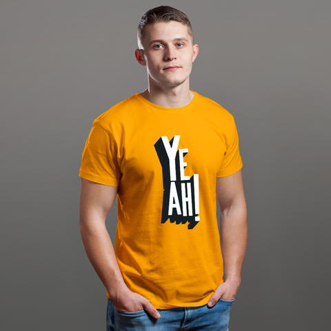 Yeah! - FEEL IT Collection, Short-Sleeve Unisex T-Shirt