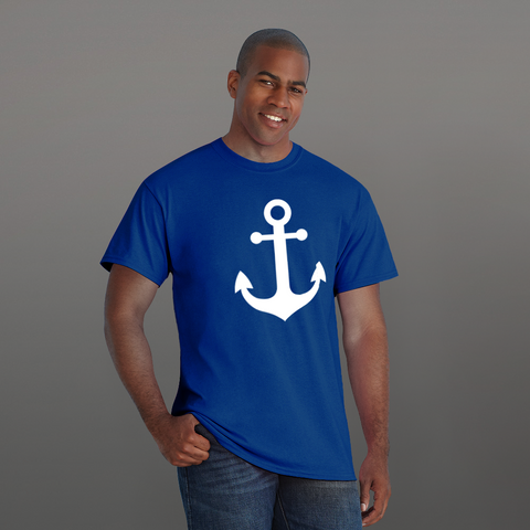 Anchor - LESS is MORE Collection, Short-Sleeve Unisex T-Shirt