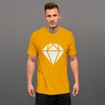 Diamond - LESS is MORE Collection, Short-Sleeve Unisex T-Shirt