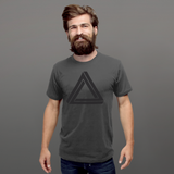 Triangle - LESS is MORE Collection, Short-Sleeve Unisex T-Shirt