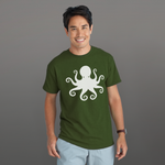Octopus - LESS is MORE Collection, Short-Sleeve Unisex T-Shirt