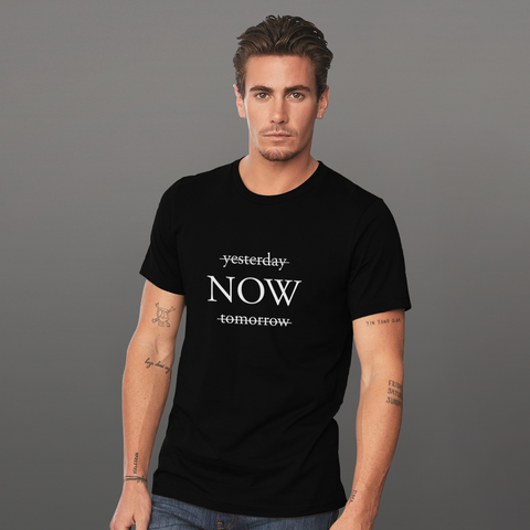 Now -  MINIMALS Colleciton, Short-Sleeve Unisex T-Shirt