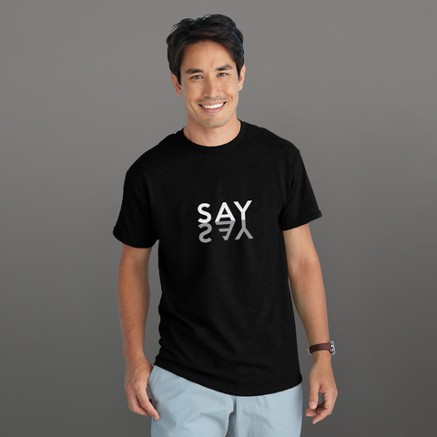 Say Yes - MINIMALS Collection, Short-Sleeve Unisex T-Shirt