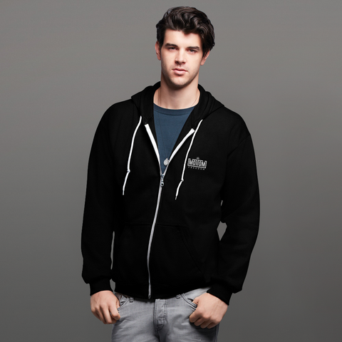 MOTTOM Originals Collection, Unisex  Zip Hoodie